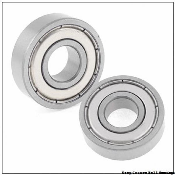 1,5 mm x 6 mm x 3 mm  FBJ 601XZZ deep groove ball bearings #2 image