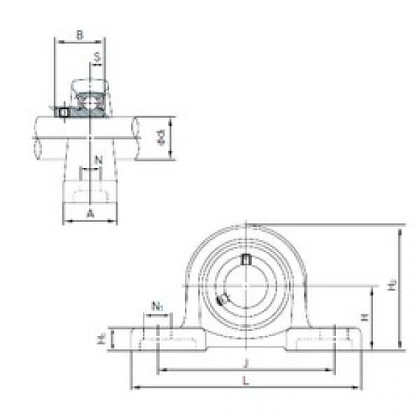 NACHI BLLP4J bearing units #3 image