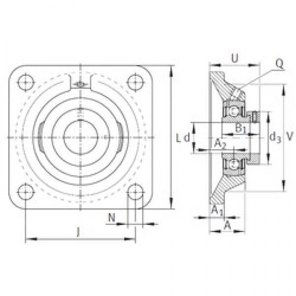 INA PCJ1 bearing units #3 image