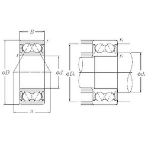 20 mm x 47 mm x 20,6 mm  NTN 5204SCZZ angular contact ball bearings #3 image