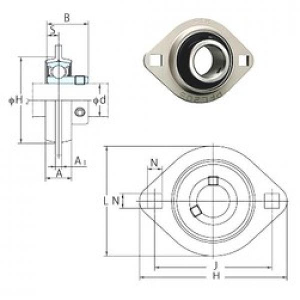 FYH SBPFL203 bearing units #3 image