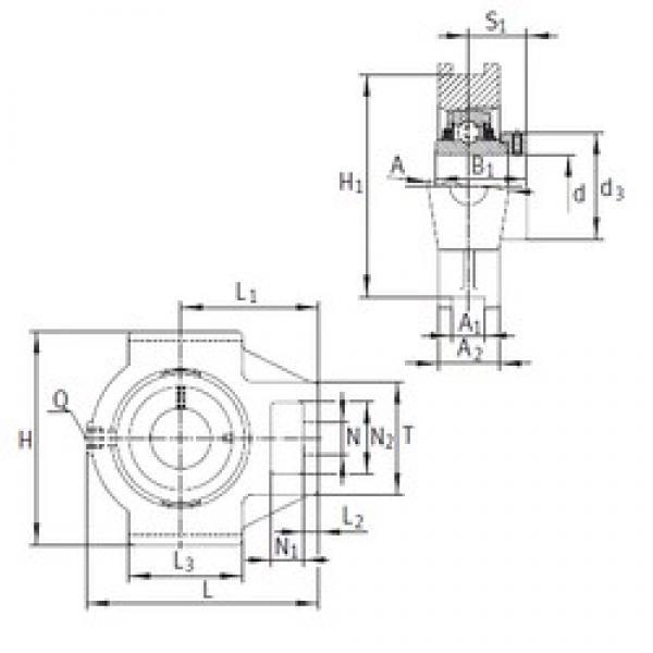 INA TTUE60 bearing units #3 image