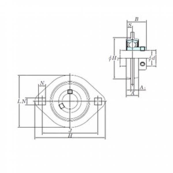 KOYO SBPFL203 bearing units #3 image