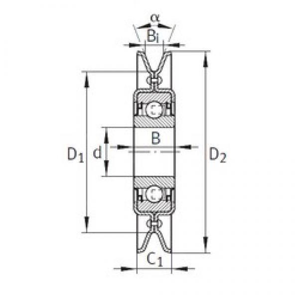 INA RSRA16-186-L0 bearing units #3 image