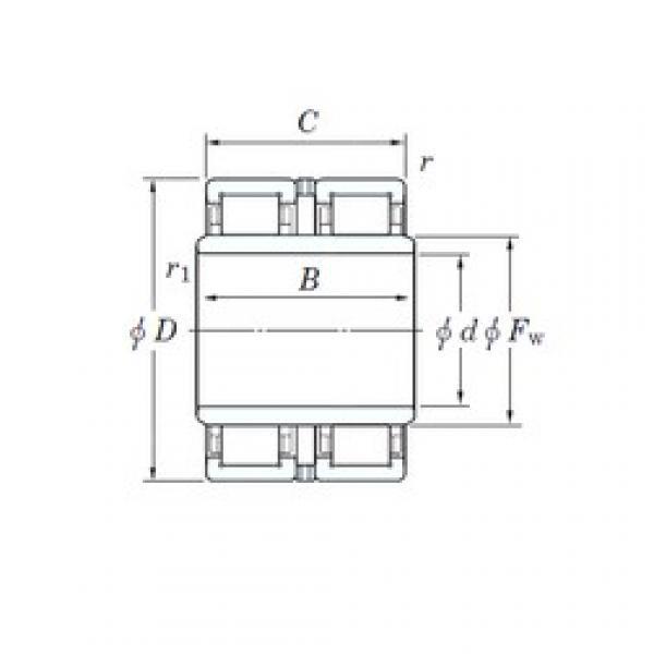133 mm x 280 mm x 215 mm  KOYO JC92 cylindrical roller bearings #3 image