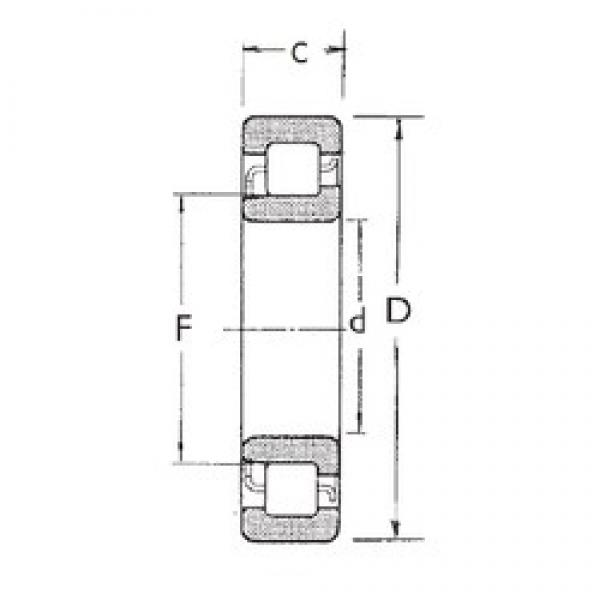80 mm x 140 mm x 33 mm  FBJ NJ2216 cylindrical roller bearings #3 image
