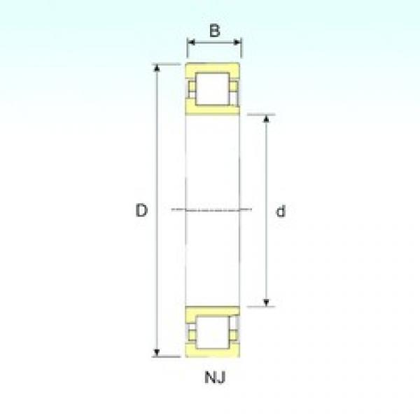 45 mm x 85 mm x 23 mm  ISB NJ 2209 cylindrical roller bearings #3 image