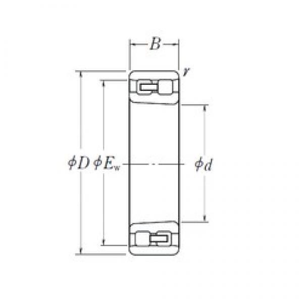 360 mm x 540 mm x 134 mm  NSK NN 3072 K cylindrical roller bearings #3 image