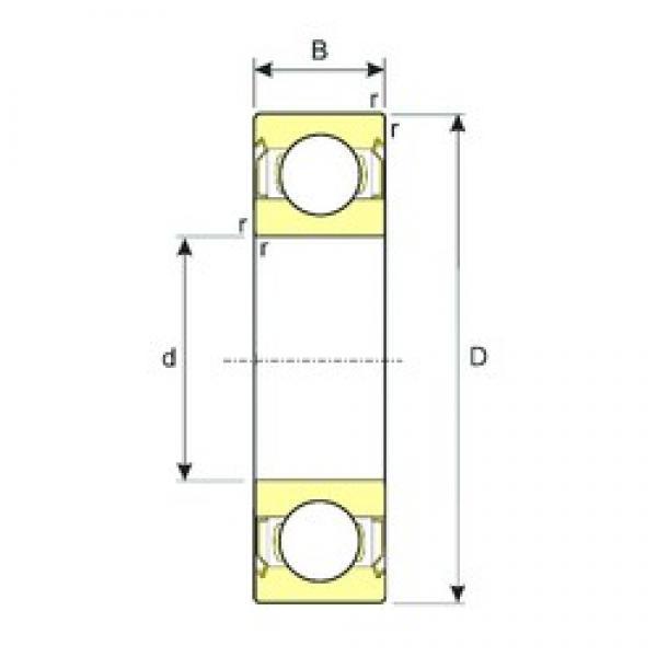 55 mm x 90 mm x 18 mm  ISB 6011-ZZ deep groove ball bearings #3 image