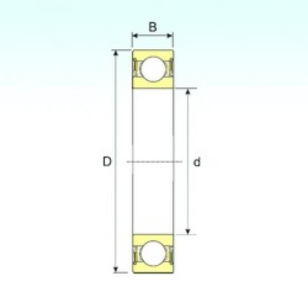 60 mm x 130 mm x 31 mm  ISB 6312-2RS deep groove ball bearings #3 image