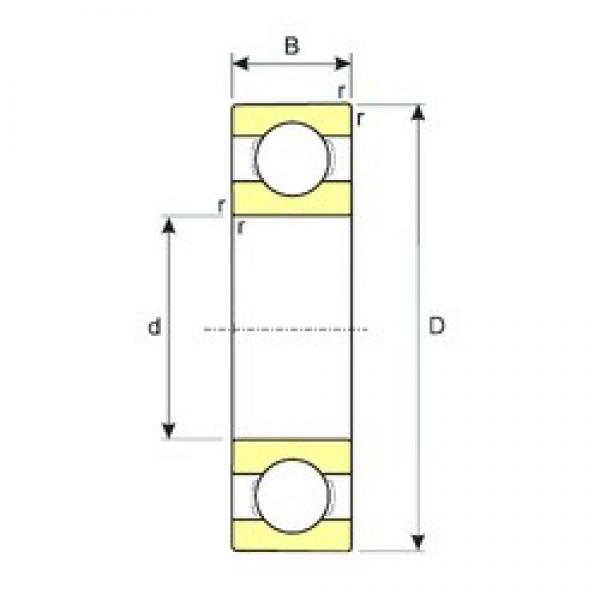 15 mm x 42 mm x 13 mm  ISB SS 6302 deep groove ball bearings #3 image