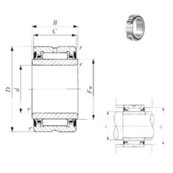 25 mm x 42 mm x 31 mm  IKO NA 6905UU needle roller bearings #3 image