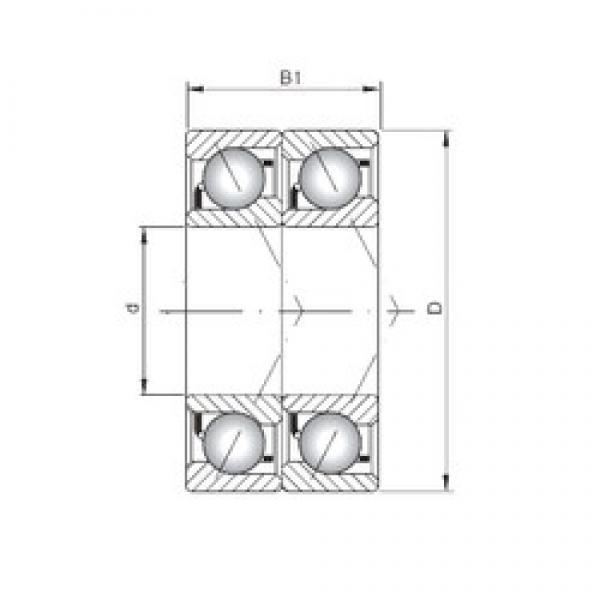 ISO 7320 ADT angular contact ball bearings #3 image