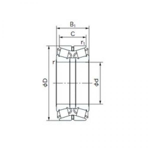 NACHI 320KBE131 tapered roller bearings #3 image